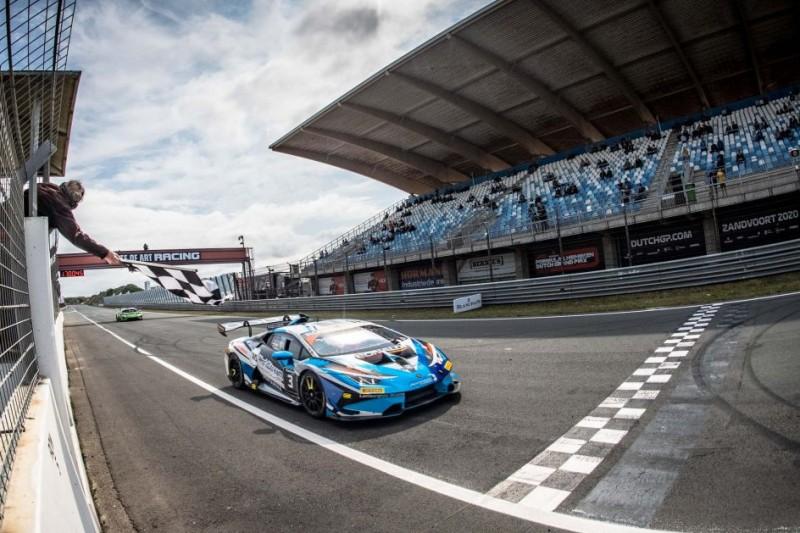 Lamborghini-Trofeo Zandvoort: Doppelschlag von Kroes/Afanasiew