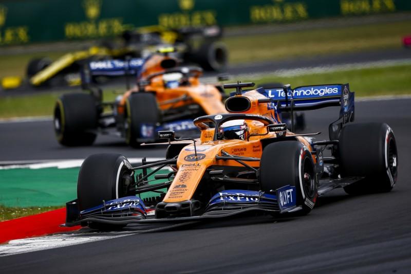 McLaren in Silverstone: Sainz mit perfekter Strategie auf P6