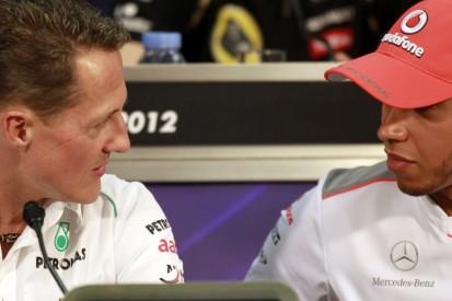 Rosberg freut sich über Hamiltons Schumacher-Rekordjagd