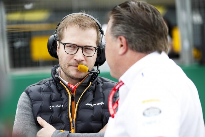 Zak Brown: Andreas Seidl wäre in McLaren-Hypercar nicht involviert