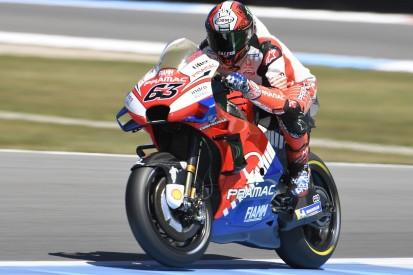 MotoGP-Rookie Bagnaia: Warum er sich an Lorenzos Daten orientiert