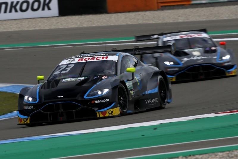 Zwei Aston Martin in Assen in den Top 10: Reifenmanagement bot Chance