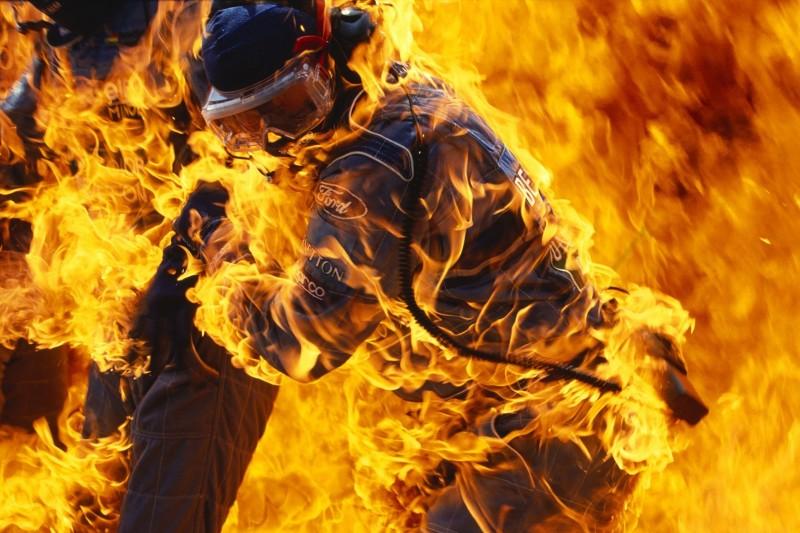 Hockenheim 1994: Das legendäre Bild hinter Jos Verstappens Feuerunfall