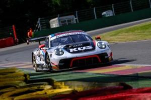 24h Spa 2019: Bestzeit für Porsche, Aston-Martin-Crash in Raidillon