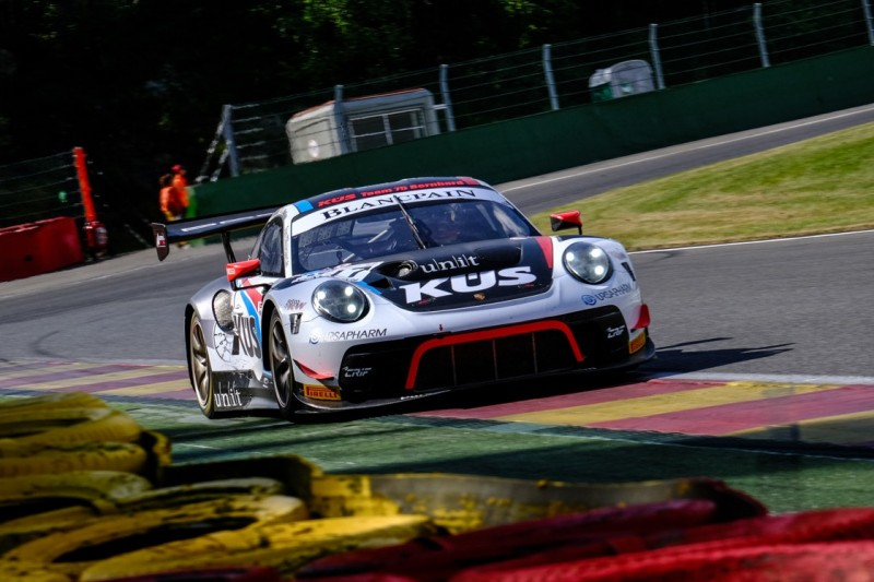 24h Spa 2019: Bestzeit für Porsche, Aston-Martin-Crash in Raidillon