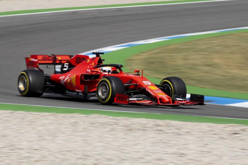 Luft nach oben: Vettel wittert Chancen in Hockenheim