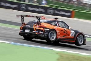 Porsche-Supercup Hockenheim: Erste Pole-Position für Larry ten Voorde