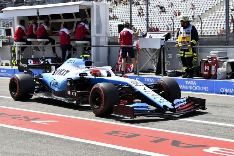 Williams-Probleme gehen weiter: Kubica im Ersatzauto, Russell mit Schaden