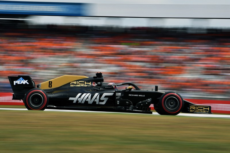 "Haas-Rätselraten: Grosjean mit ""Uralt""-Auto in dritter Startreihe"
