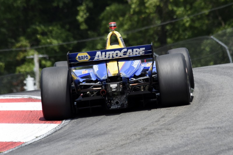 Vertragsunterzeichnung: Alexander Rossi bleibt bei Andretti
