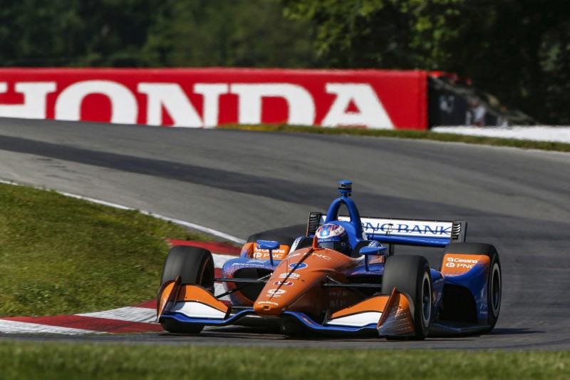 IndyCar Mid-Ohio: Dixon gewinnt Ganassi-Fotofinish gegen Rosenqvist