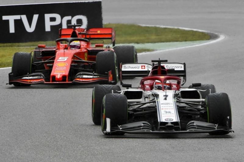 """""""Nicht zufrieden"""": Warum stecke Vettel in der ersten Rennhälfte fest?"""