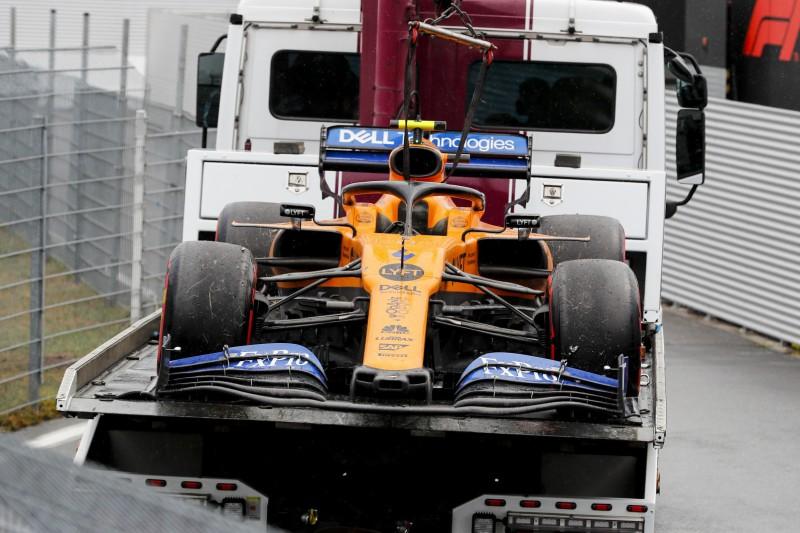 Norris' Nullnummer: Plötzlich Motorpower verloren
