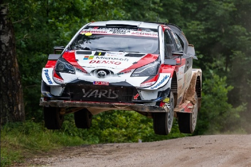 WRC Rallye Finnland 2019: Ott Tänak im Shakedown vor Hyundai-Trio