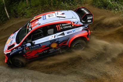 WRC Rallye Finnland 2019: Thierry Neuville zum Auftakt vorne