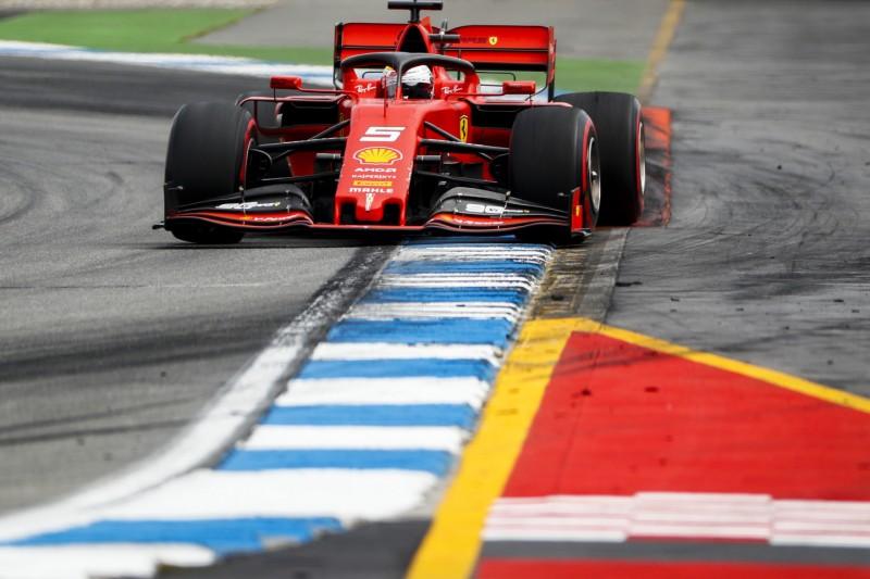 """Das war haarig!"": Wie Vettel P2 in Hockenheim beinahe verlor"