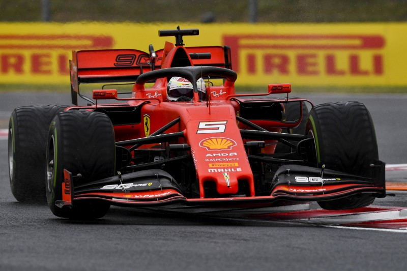 Ferrari am Freitag mit Aero-Updates: Vettel ist gerne ein Optimist