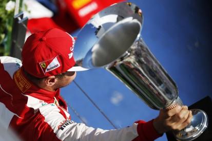 "Vettel erinnert sich an Pokal-Kritik: Sponsor-Trophäen ""total öde"""
