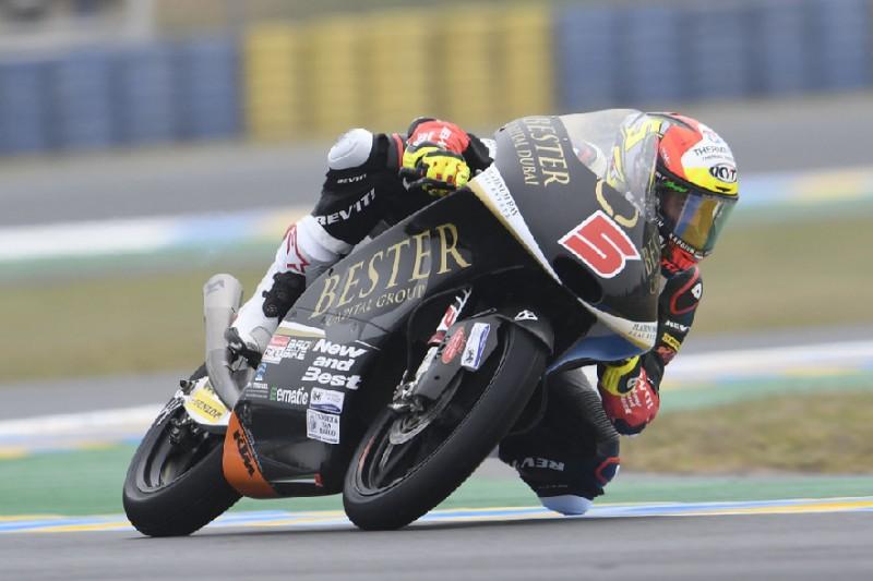 Moto3 in Brünn 2019: Jaume Masia im nassen FT3 Schnellster