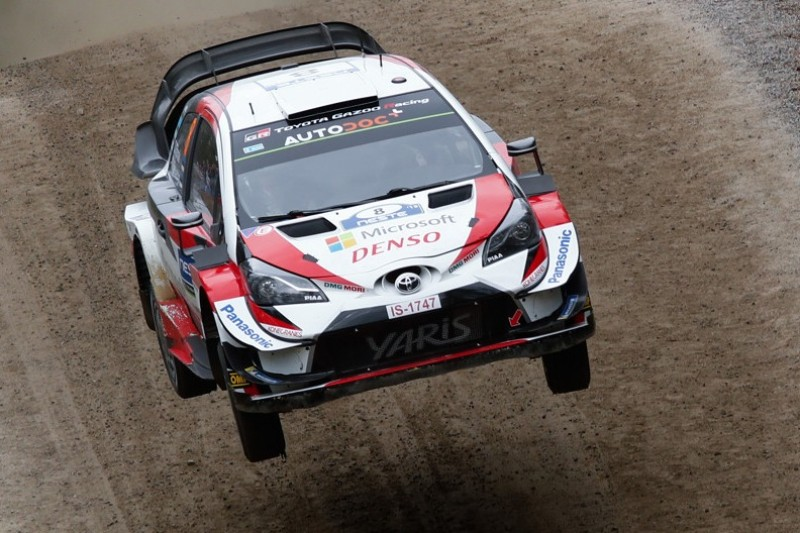 WRC Rallye Finnland 2019: Tänak übernimmt Führung - Meeke draußen