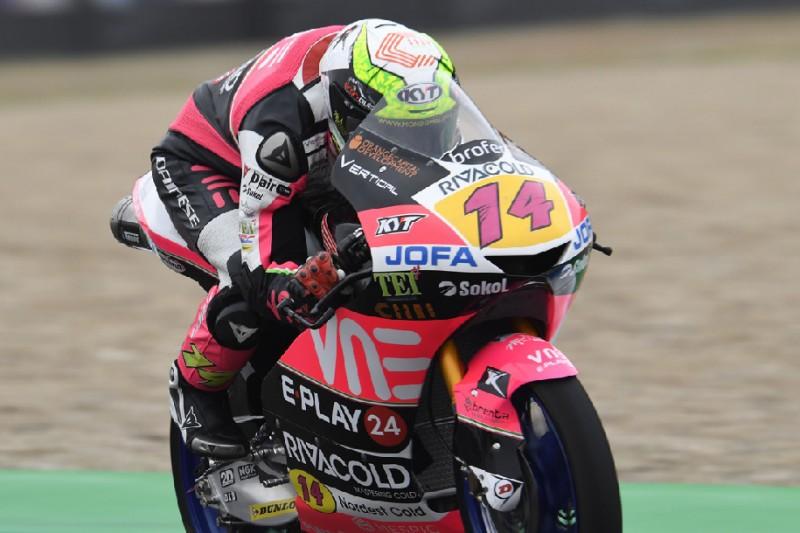 Moto3 in Brünn 2019: Tony Arbolino holt sich im Regen die Pole-Position