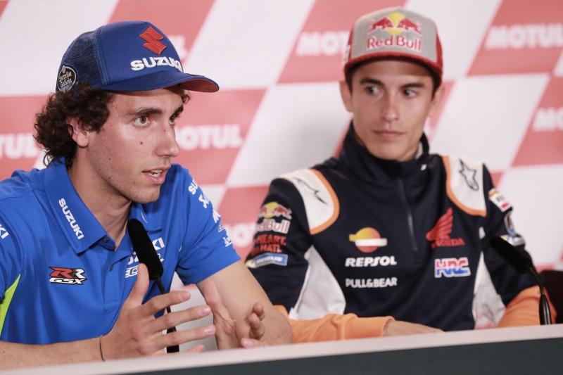 """Alex Rins kritisiert Marc Marquez: """"Hat keinen Respekt vor anderen Fahrern"""""""