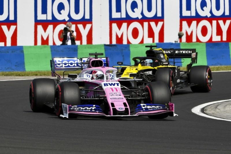 "Perez sauer: Manöver von Ricciardo ""respektlos"""