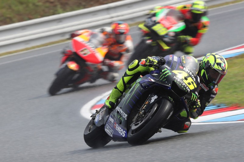 """""""Die richtige Entscheidung"""": Warum Rossi nicht Slicks riskiert hat"""