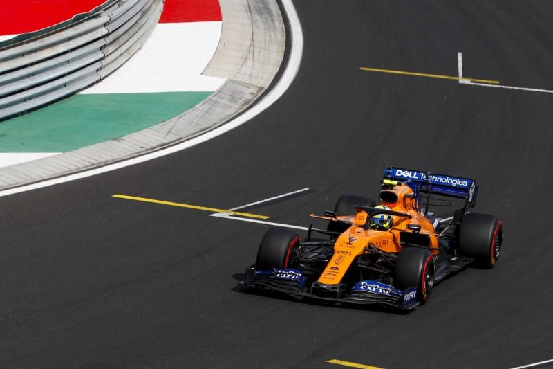 """McLaren weiter im Aufwind: """"Best of the Rest"""" auch auf langsamer Strecke"""