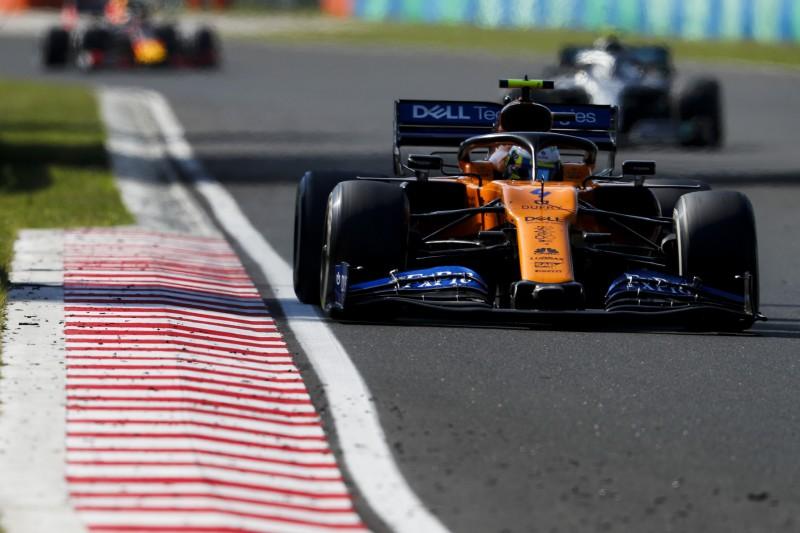 McLaren nach Ungarn: Eindeutig das viertschnellste Auto