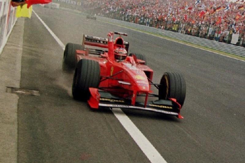 Video: So erinnerte Hamiltons Ungarn-Sieg an Schumachers Triumph 1998