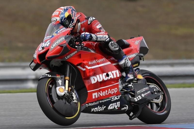 MotoGP in Spielberg: Dovizioso im FT1 vorn, drei Hersteller in den Top 3