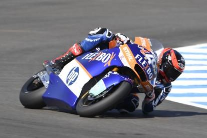 Moto2 in Spielberg: Fernandez fährt FT1-Bestzeit, Schrötter trotz Sturz Dritter