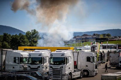 MotoE in Spielberg 2019: Erneute Explosion beim Ladevorgang