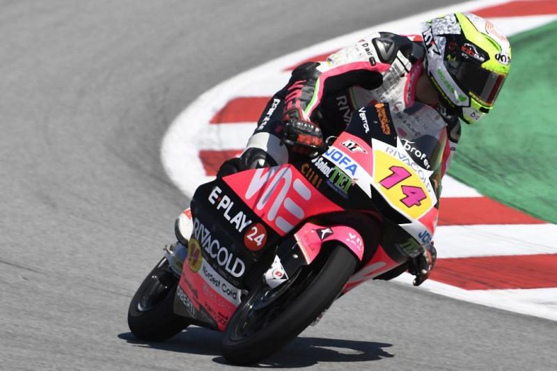 Moto3 in Spielberg 2019: Tony Arbolino im FT3 mit Rekordrunde vorn