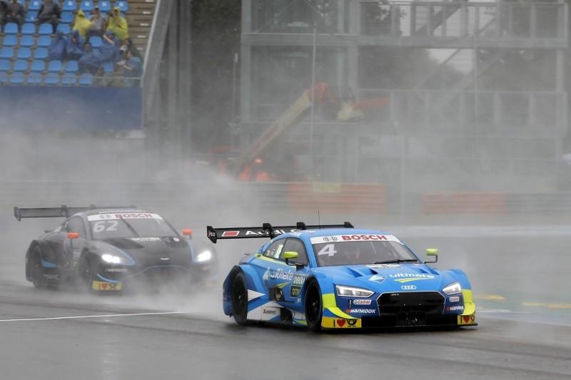 DTM-Training Brands Hatch: Frijns-Bestzeit bei Regen und heftigem Wind
