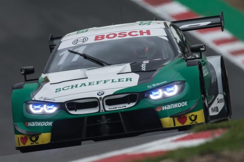 DTM Brands Hatch 2019: Wittmann rettet sich vor Rast zum Sieg