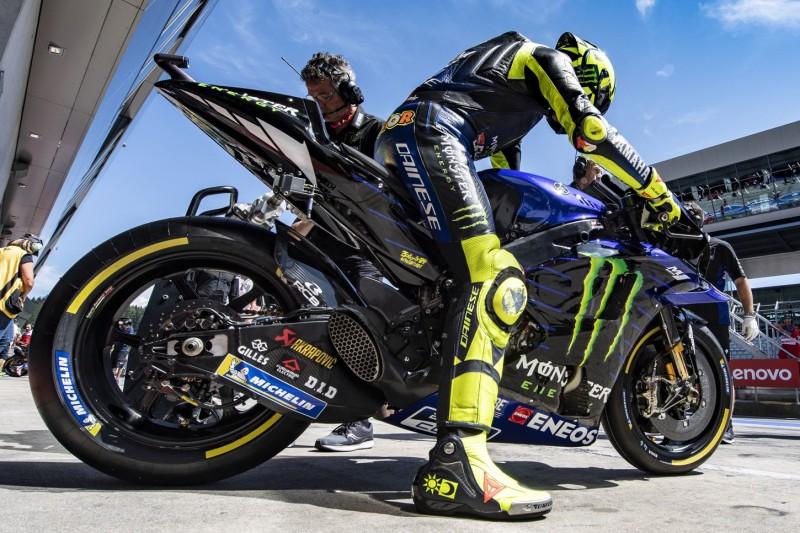 """Valentino Rossi auf Startplatz zehn: """"Tempo mit Rennreifen ziemlich gut"""""""