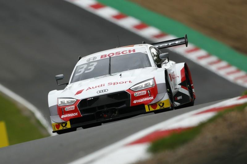DTM-Qualifying Brands Hatch 2: Rast holt Pole, Ohrfeige für BMW