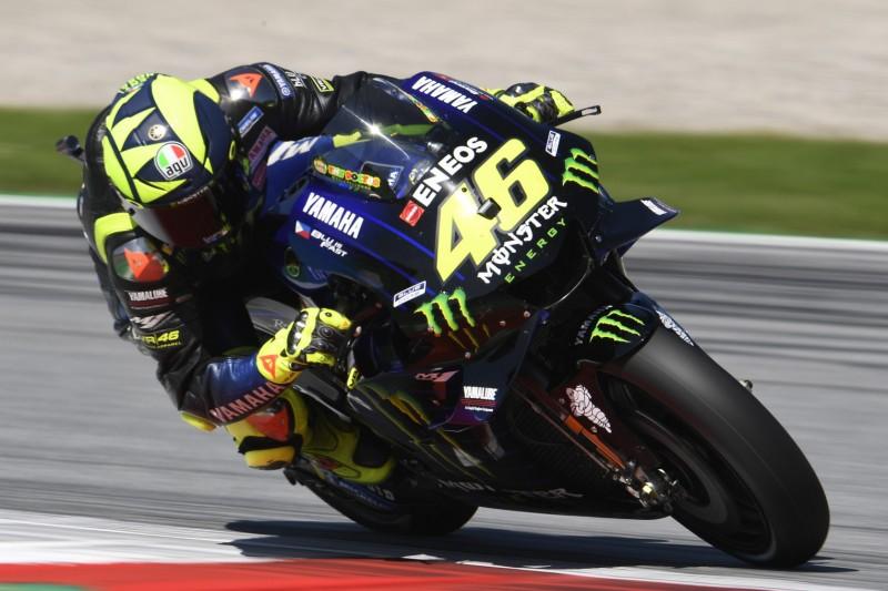 """Valentino Rossi mit Platz vier zufrieden: """"Konnte nicht mit Fabio mithalten"""""""