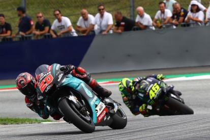 """MotoGP-Rookie Quartararo hält Rossi auf Distanz: """"Nicht damit gerechnet"""""""
