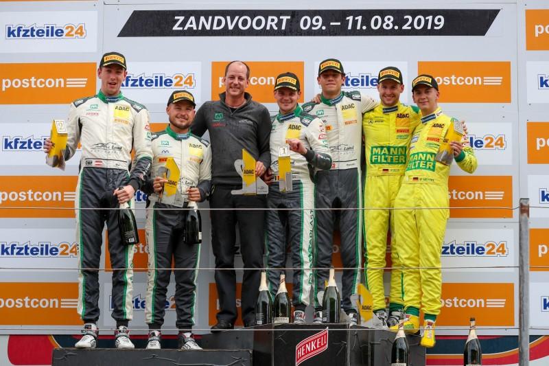 GT-Masters Zandvoort 2019: Audi siegt, erstes Podest für Fabian Vettel