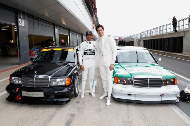 Lewis Hamilton: Alte DTM keine Inspiration für Formel-1-Zukunft