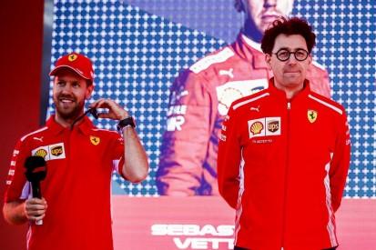 Trotz Ferrari-Durststrecke: Binotto laut Vettel der richtige Mann