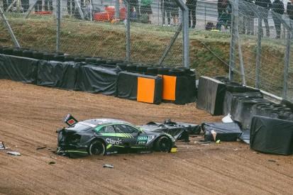 """Fittipaldi über heftigen Einschlag: """"Auto wurde kaum abgebremst"""""""