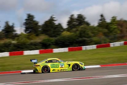 GT-Masters Nürburgring: Mercedes-Pilot Götz mit Freitagsbestzeit
