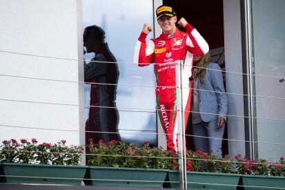"""Formel 2 """"ein anderes Kaliber"""": Schumacher-Chef erwartet keine Siegesserie"""