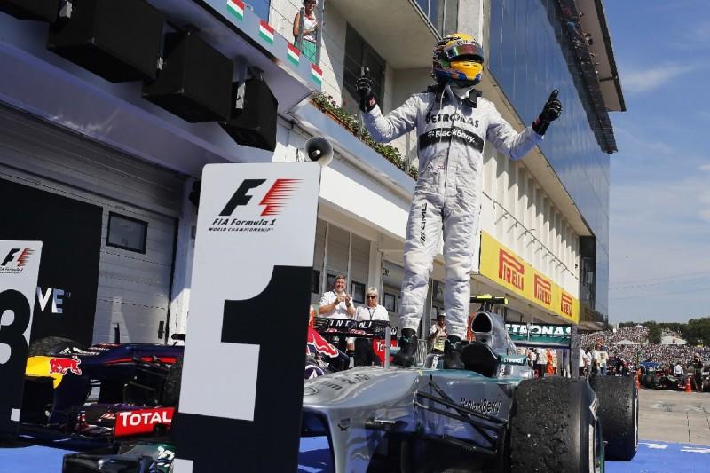 Ungarn 2013: Hamiltons erster Mercedes-Sieg und Beginn einer Ära