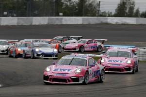 Porsche-Carrera-Cup Nürburgring: Andlauer feiert dritten Saisonsieg