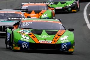 GT-Masters Nürburgring 2019: Franck Perera holt Regenpole für Lamborghini